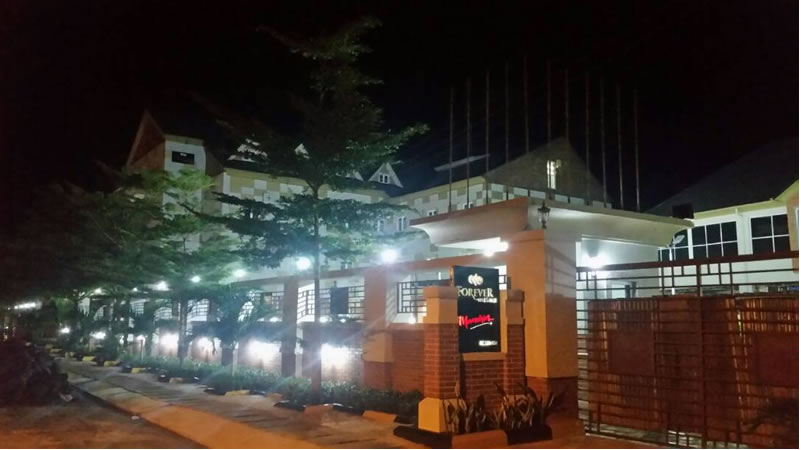 forever hotels owerri gallery night view